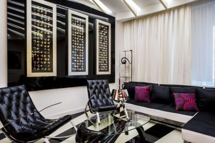 Уникальная сюрреалистичная квартира Бари Алибасова