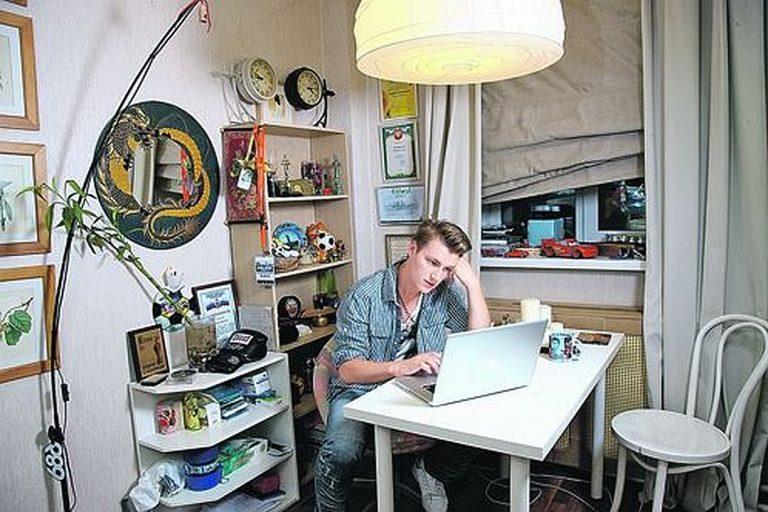 Квартира и дом Алексея Воробьева — обитель уюта и творчества