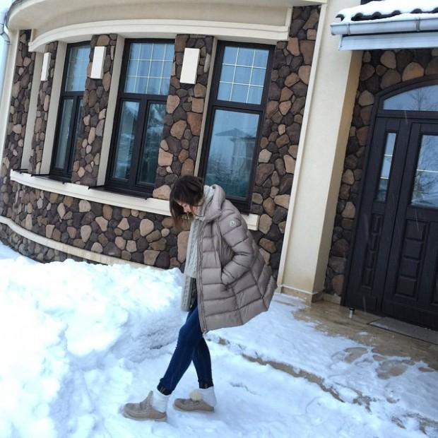 Огромный дом Елены Темниковой