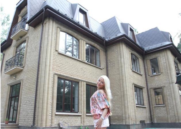 Шикарный дом на Рублевке Алены Кравец