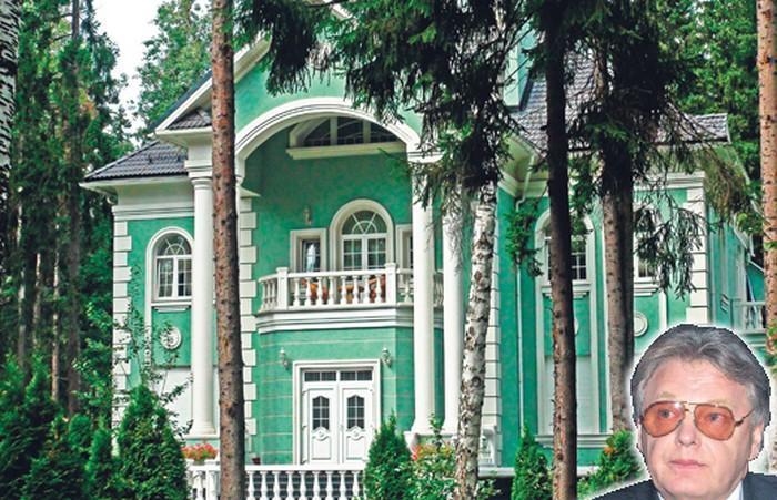 Усадьба в стиле русского классицизма Юрия Антонова