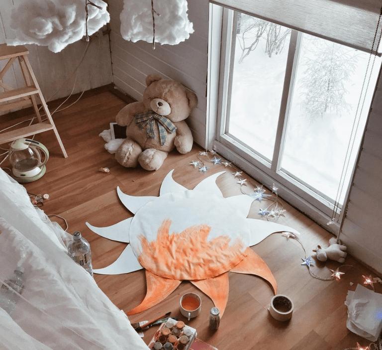 Чудесный домик блогера Насти Кош