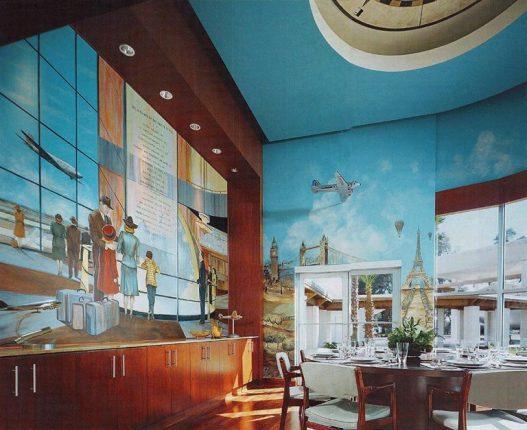 Джон Траволта и его необычный дом с самолетами