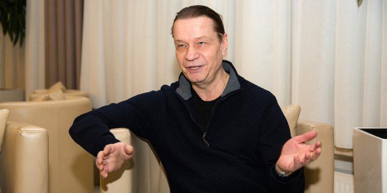 Скромная квартира Валерия Кипелова