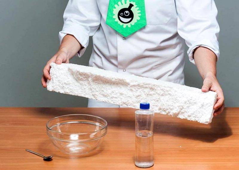 Как сделать клей из пенопласта, простой способ на все случаи жизни