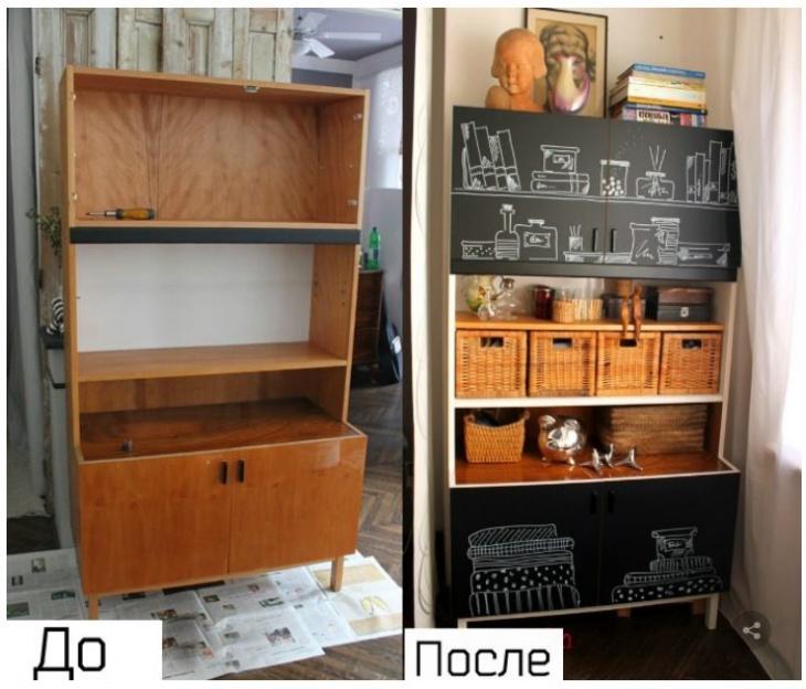 Переделка старой мебели своими руками, советы и простые способы реставрации