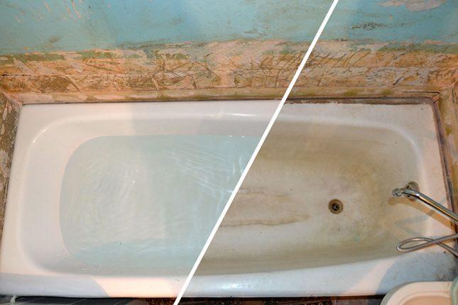Как обновить чугунную ванну самостоятельно, 3 популярных способа