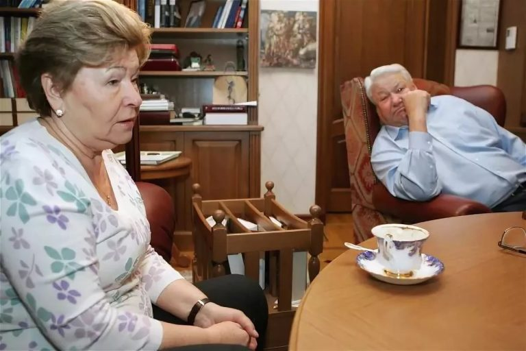 Где живёт 80-летняя Наина Ельцина?