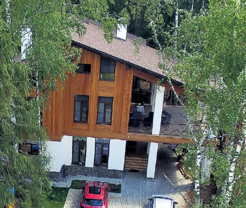 Первый собственный дом Татьяны Лютаевой и ее дочери Агнии Дитковските