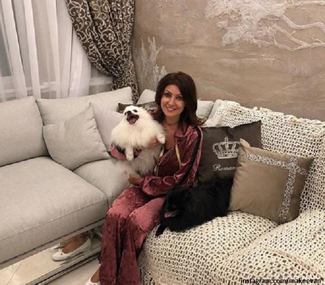 Новая квартира Анастасии Макеевой, которую она строила больше 20 лет