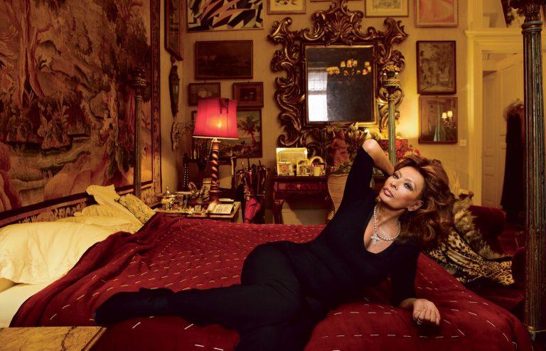 Любимая роскошная вилла самой красивой женщины планеты 84-летней Софи Лорен