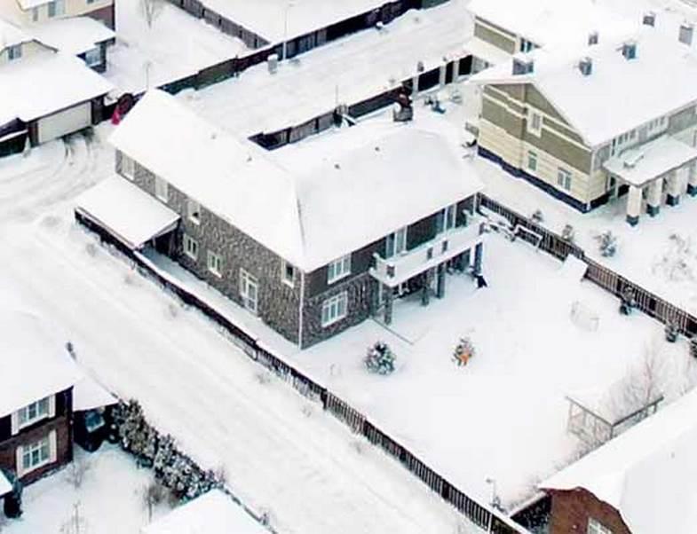 Элитный загородный дом Елены Летучей в современном стиле