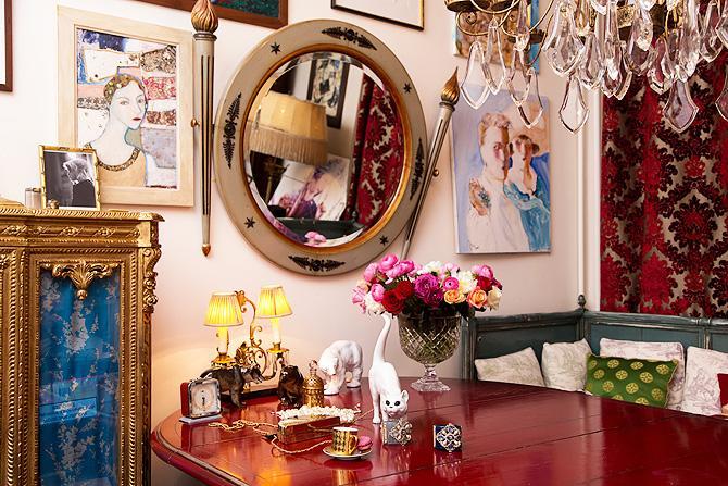 Такие же стильные, как и сама владелица, апартаменты Ренаты Литвиновой по всему миру