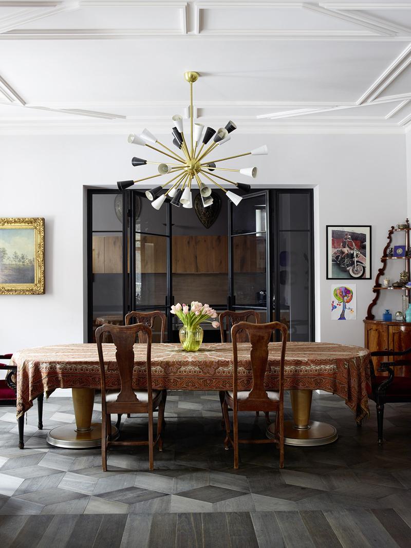 Элитная квартира в vip-зоне Москвы и стильный домик в Италии художницы Александры Вертинской и ее мужа