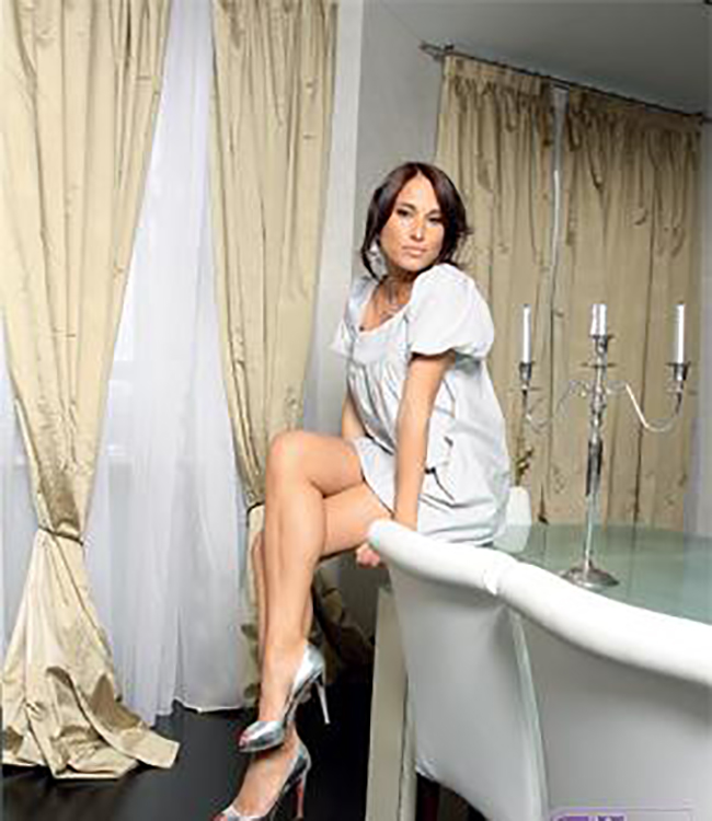 Квартира, оформленная по собственному дизайну, телеведущей и модели Марики