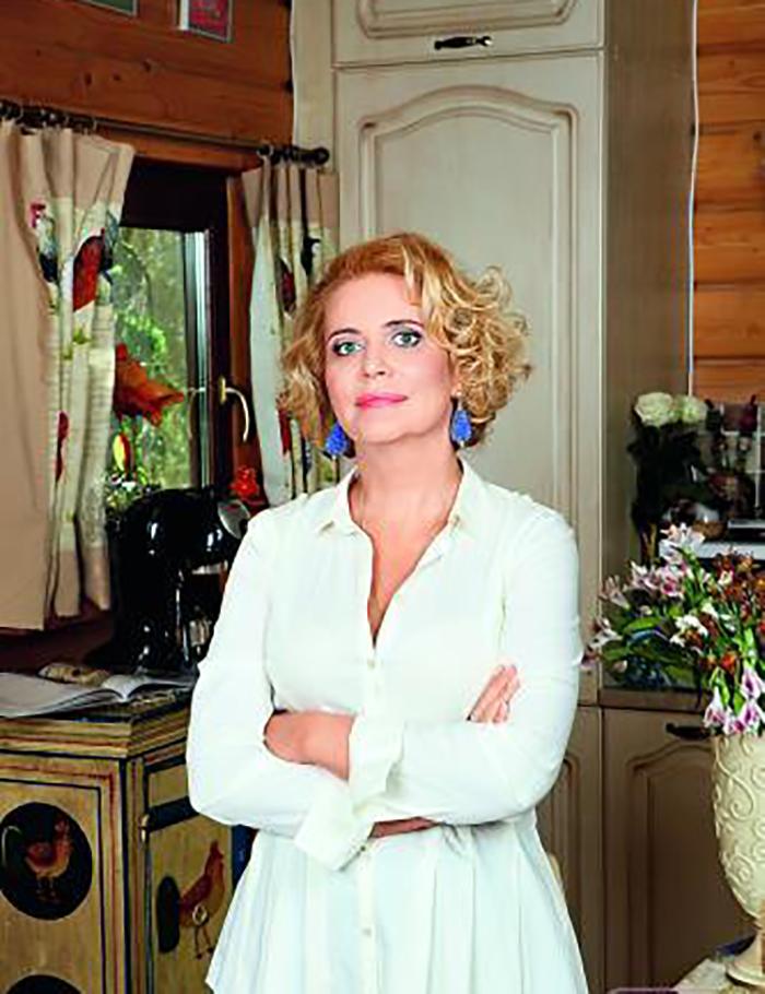 Очаровательный деревенский домик дочери главного Ипполита страны, актрисы Алены Яковлевой