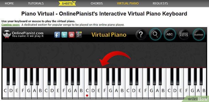пианино онлайн играть