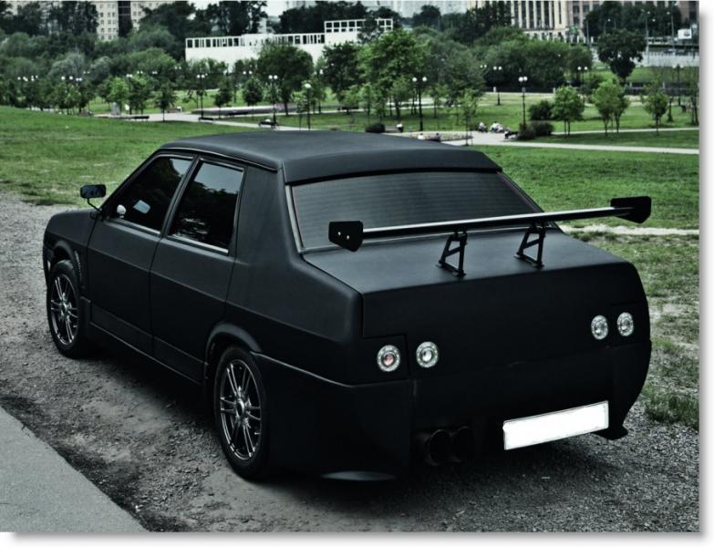 Тюнинг кузова легкового автомобиля