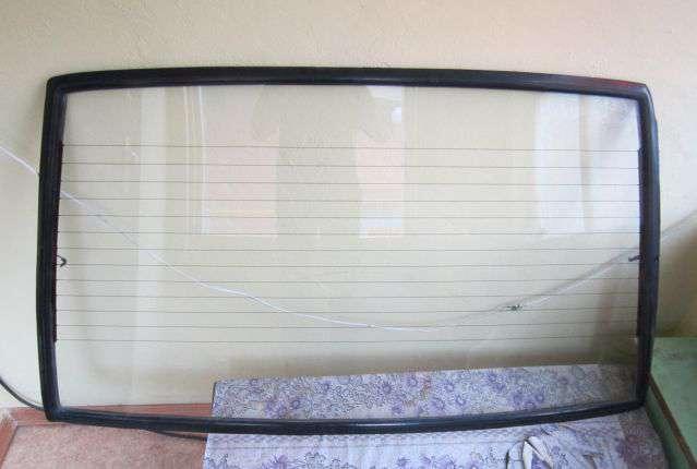 Замена заднего стекла ваз