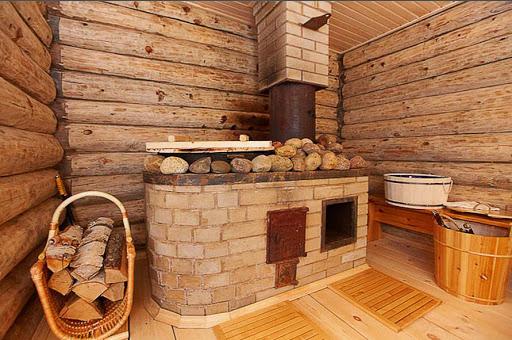 Как топить баню после зимы