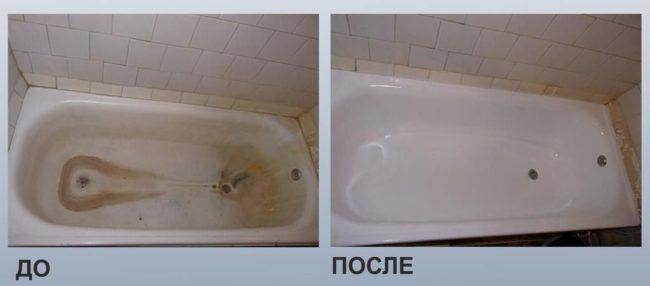 Реставрация ванн: методы покраски ванны от компании ivanna.by