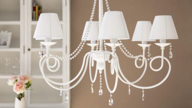 Как выбрать люстру и лампу для дома