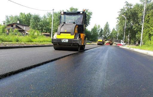 Асфальтирование дороги в Подольске