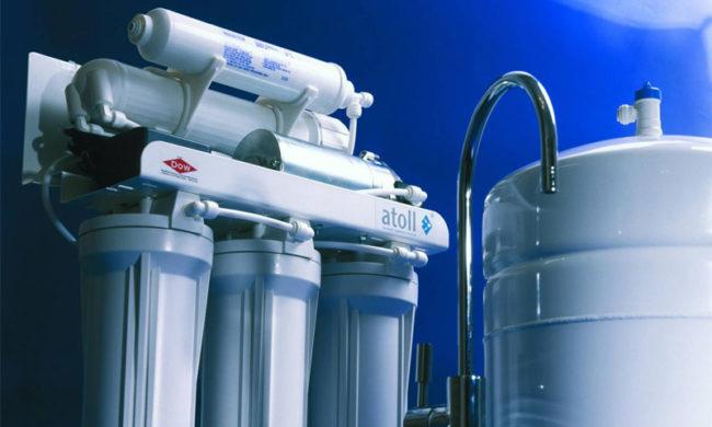 Фильтры для воды Атолл - наиболее эффективная очистка воды