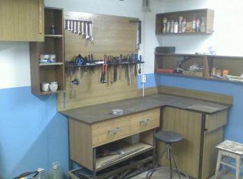 Обустройство мастерской в гараже