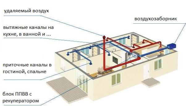 Приточно-вытяжная вентиляция для частного дома: эффективные системы воздухообмена